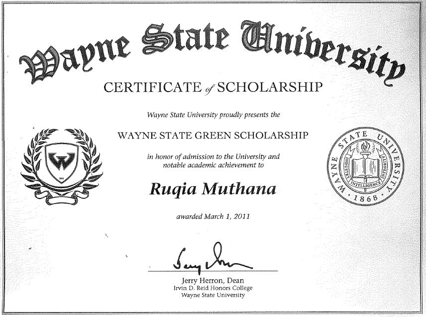 scholarship uasg